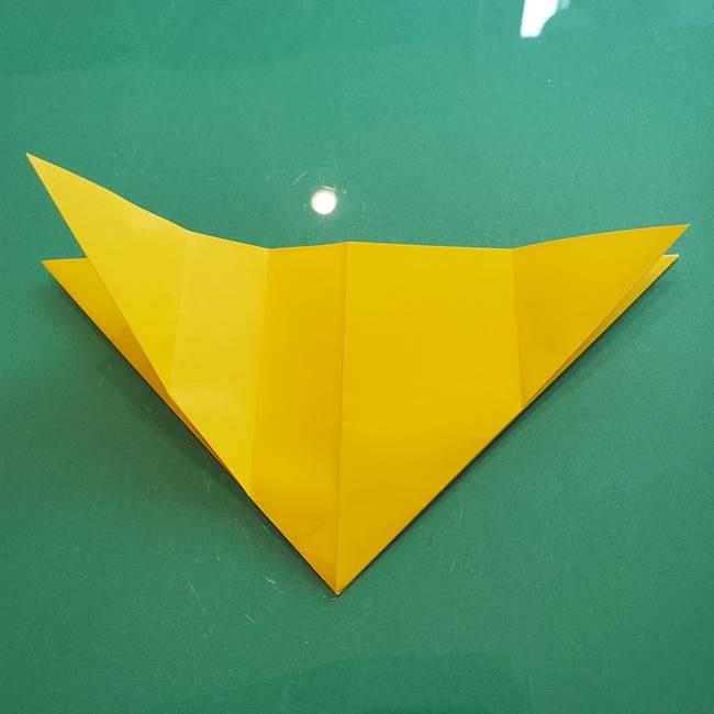 ポケモンの折り紙 ニャビーの折り方作り方①折り方(15)