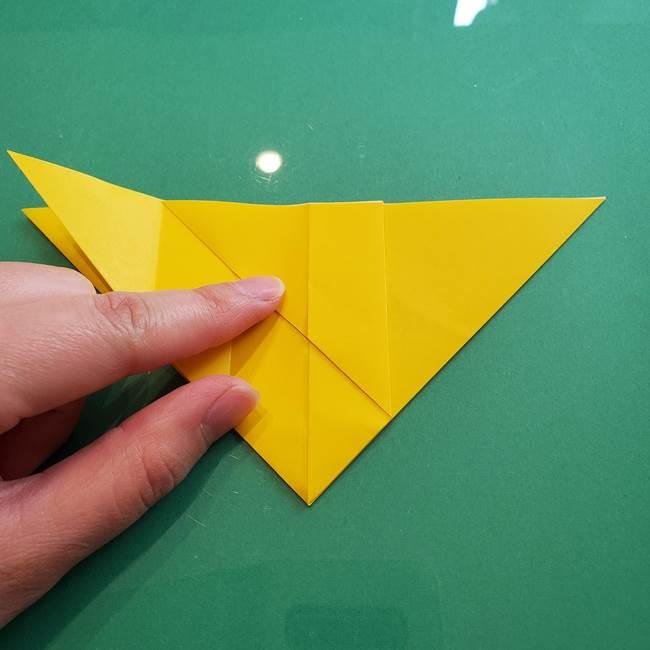 ポケモンの折り紙 ニャビーの折り方作り方①折り方(16)