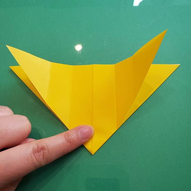ポケモンの折り紙 ニャビーの折り方作り方①折り方(17)