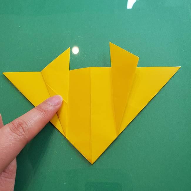 ポケモンの折り紙 ニャビーの折り方作り方①折り方(18)