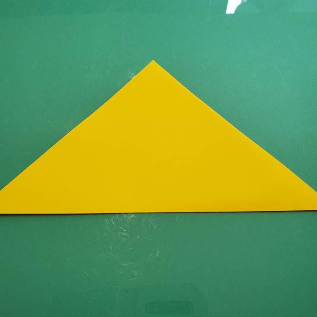 ポケモンの折り紙 ニャビーの折り方作り方①折り方(2)