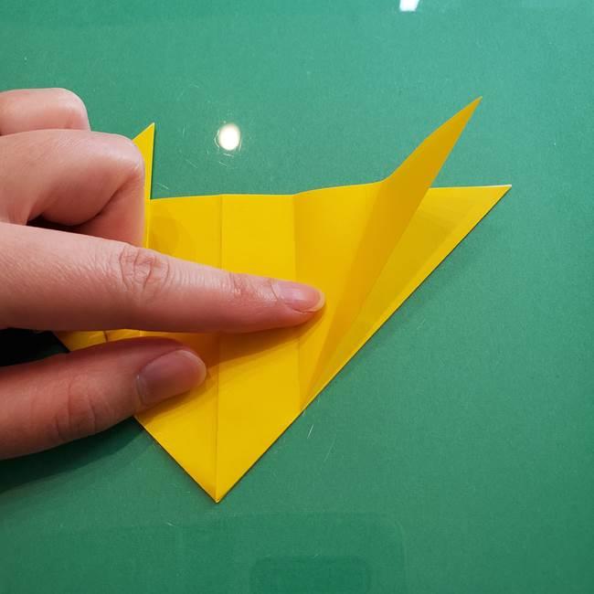 ポケモンの折り紙 ニャビーの折り方作り方①折り方(20)