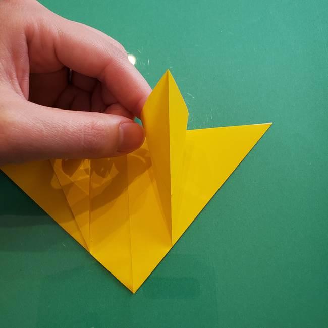 ポケモンの折り紙 ニャビーの折り方作り方①折り方(21)