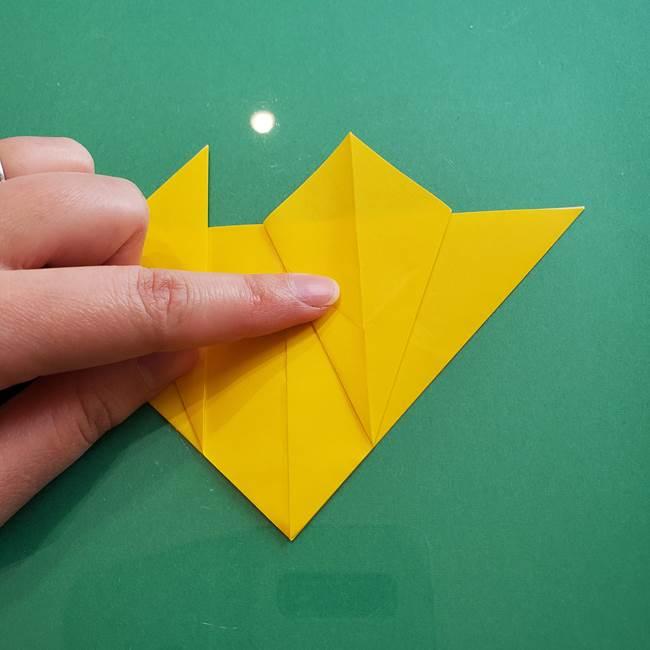 ポケモンの折り紙 ニャビーの折り方作り方①折り方(22)