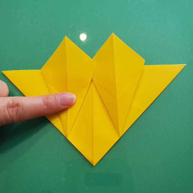 ポケモンの折り紙 ニャビーの折り方作り方①折り方(23)
