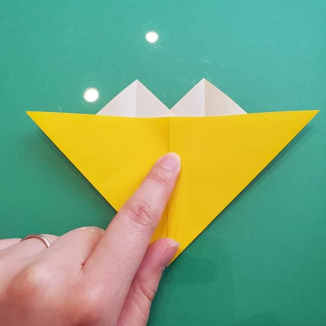 ポケモンの折り紙 ニャビーの折り方作り方①折り方(24)