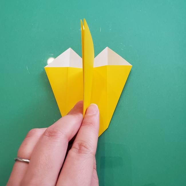 ポケモンの折り紙 ニャビーの折り方作り方①折り方(25)