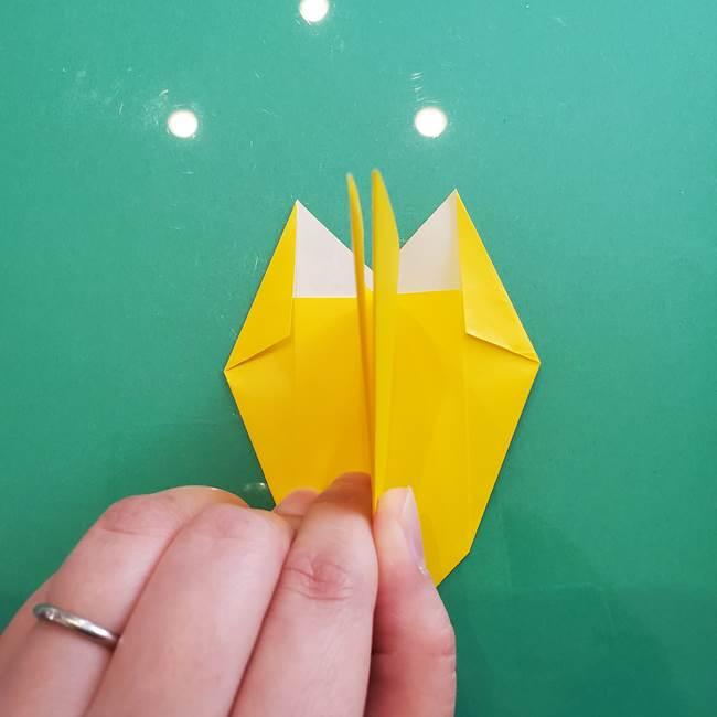 ポケモンの折り紙 ニャビーの折り方作り方①折り方(26)