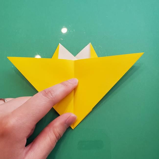 ポケモンの折り紙 ニャビーの折り方作り方①折り方(27)