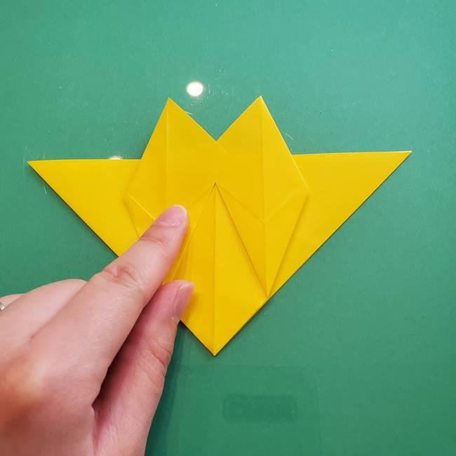ポケモンの折り紙 ニャビーの折り方作り方①折り方(28)