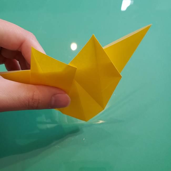 ポケモンの折り紙 ニャビーの折り方作り方①折り方(29)