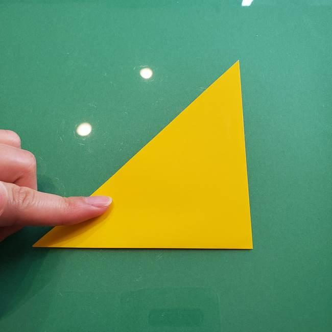 ポケモンの折り紙 ニャビーの折り方作り方①折り方(3)