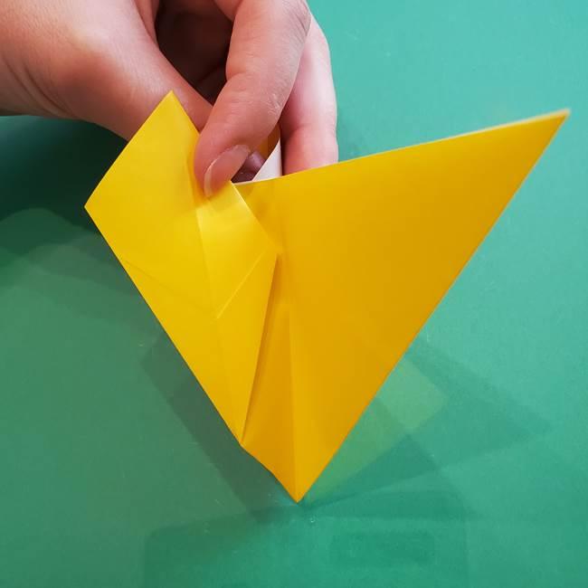 ポケモンの折り紙 ニャビーの折り方作り方①折り方(30)