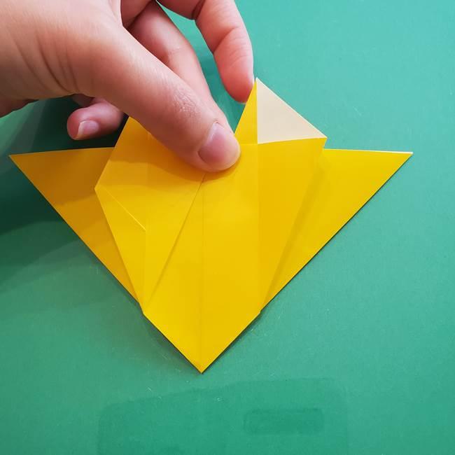 ポケモンの折り紙 ニャビーの折り方作り方①折り方(31)