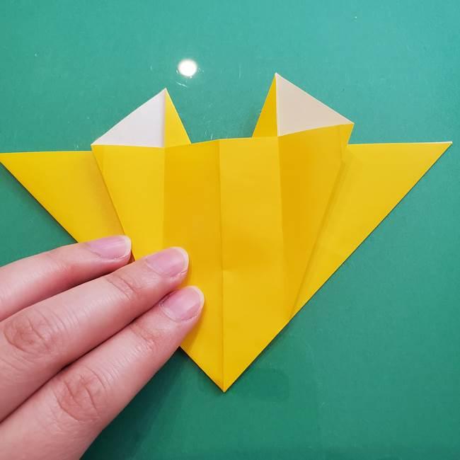ポケモンの折り紙 ニャビーの折り方作り方①折り方(32)