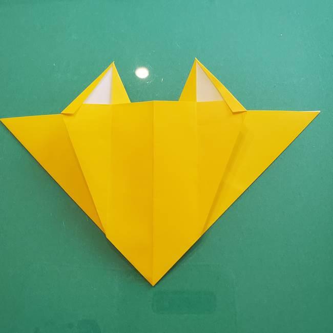 ポケモンの折り紙 ニャビーの折り方作り方①折り方(33)