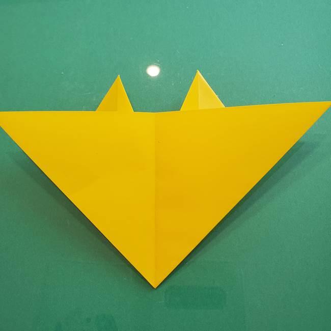 ポケモンの折り紙 ニャビーの折り方作り方①折り方(34)