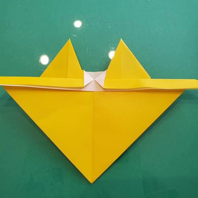 ポケモンの折り紙 ニャビーの折り方作り方①折り方(36)