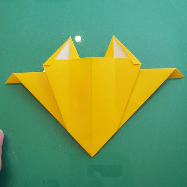 ポケモンの折り紙 ニャビーの折り方作り方①折り方(37)
