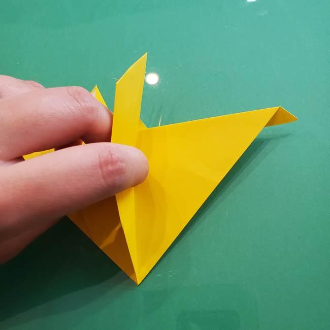 ポケモンの折り紙 ニャビーの折り方作り方①折り方(38)