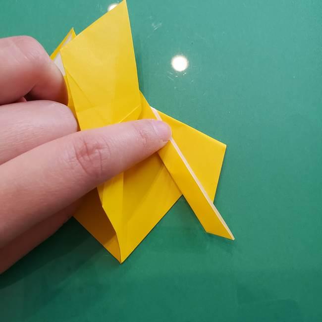 ポケモンの折り紙 ニャビーの折り方作り方①折り方(39)