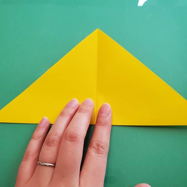 ポケモンの折り紙 ニャビーの折り方作り方①折り方(4)