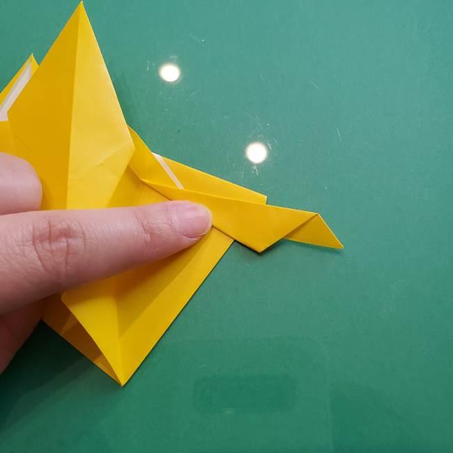 ポケモンの折り紙 ニャビーの折り方作り方①折り方(41)