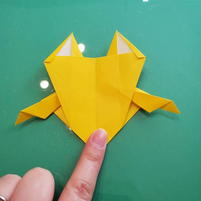 ポケモンの折り紙 ニャビーの折り方作り方①折り方(43)