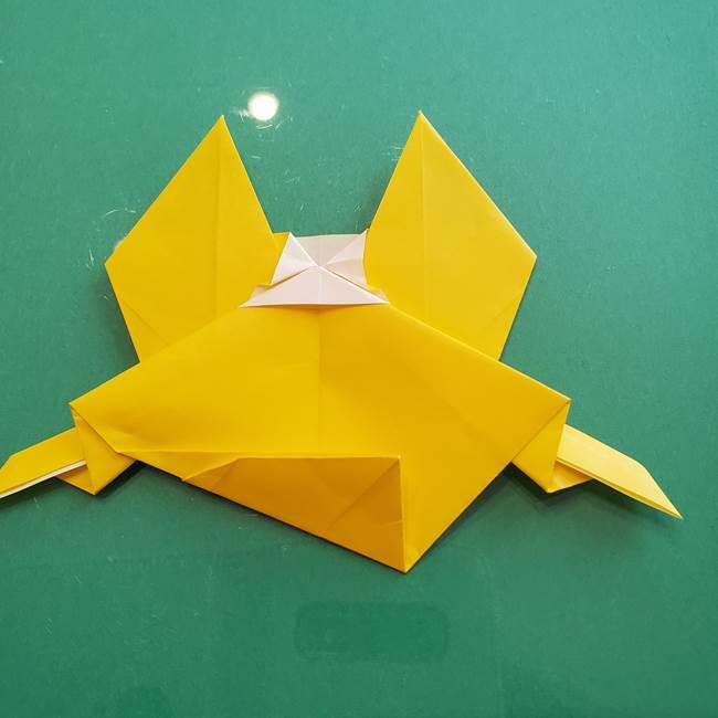 ポケモンの折り紙 ニャビーの折り方作り方①折り方(45)