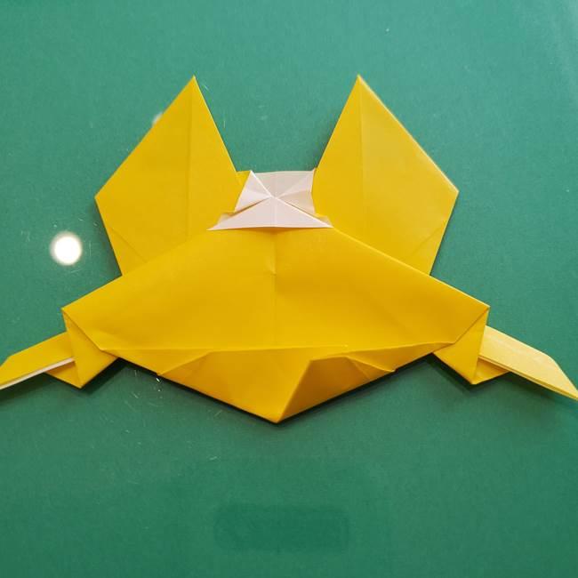 ポケモンの折り紙 ニャビーの折り方作り方①折り方(46)