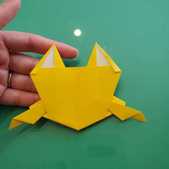 ポケモンの折り紙 ニャビーの折り方作り方①折り方(47)