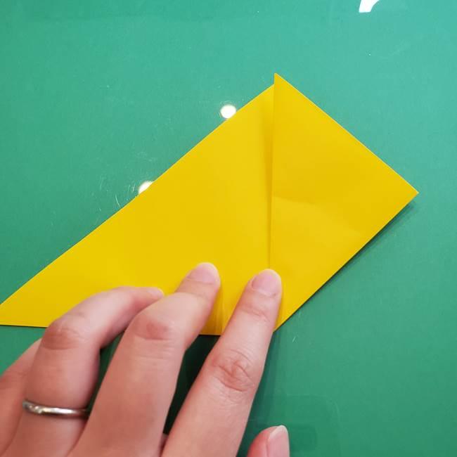 ポケモンの折り紙 ニャビーの折り方作り方①折り方(5)