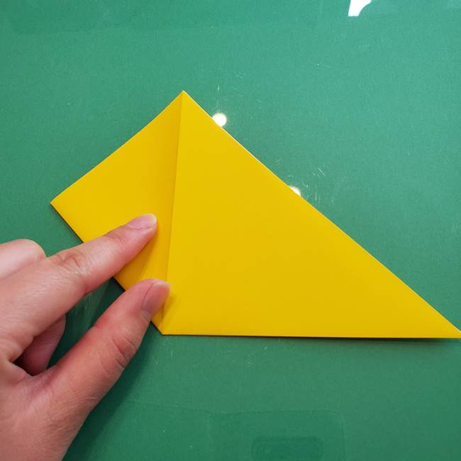 ポケモンの折り紙 ニャビーの折り方作り方①折り方(6)