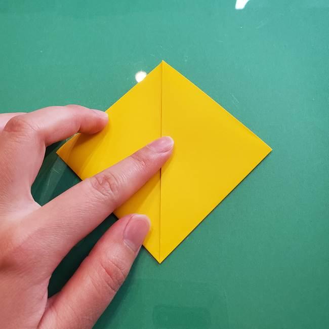 ポケモンの折り紙 ニャビーの折り方作り方①折り方(7)