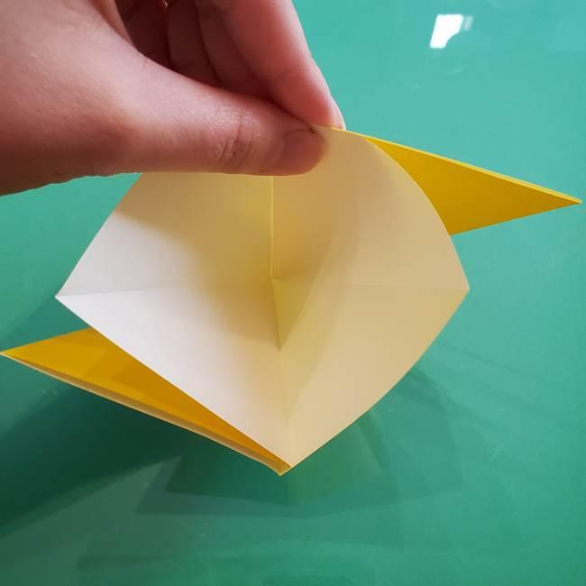 ポケモンの折り紙 ニャビーの折り方作り方①折り方(9)