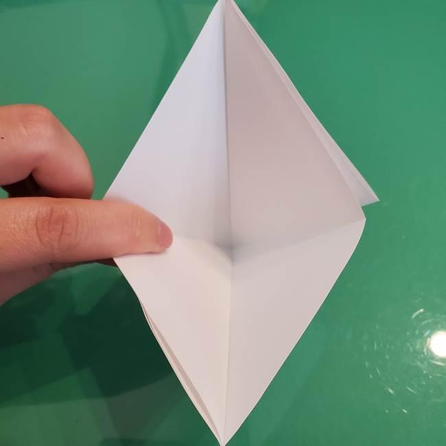 ポケモンの折り紙 ワンパチの折り方作り方①折り方(10)