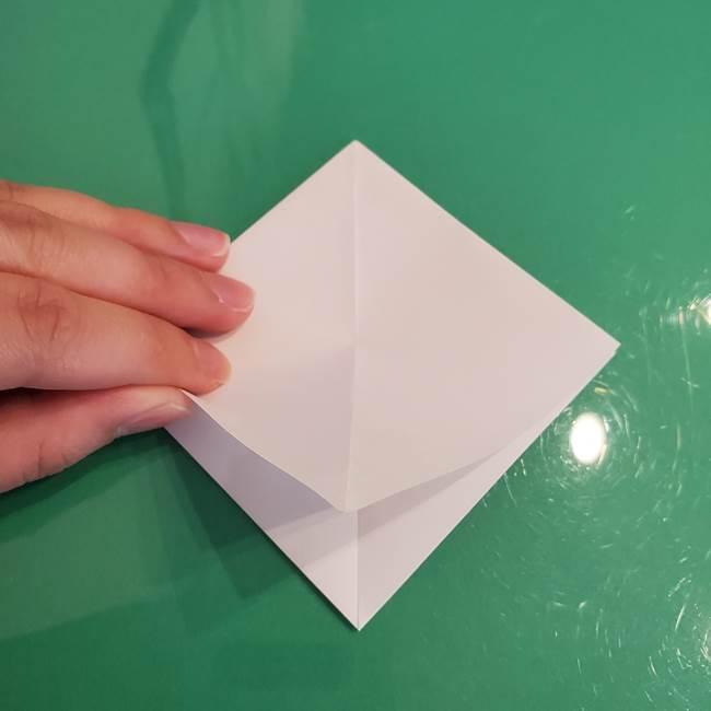 ポケモンの折り紙 ワンパチの折り方作り方①折り方(11)