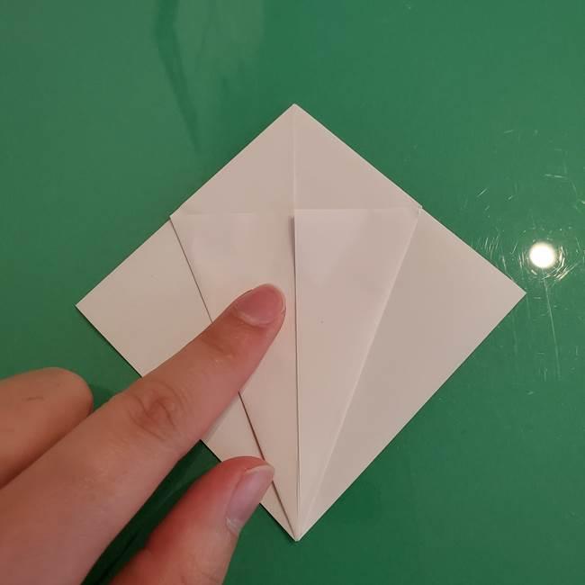 ポケモンの折り紙 ワンパチの折り方作り方①折り方(12)