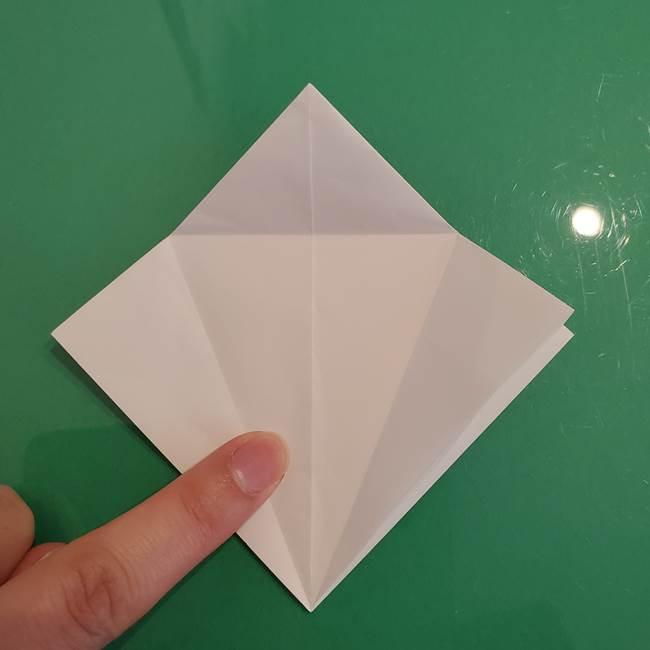 ポケモンの折り紙 ワンパチの折り方作り方①折り方(14)