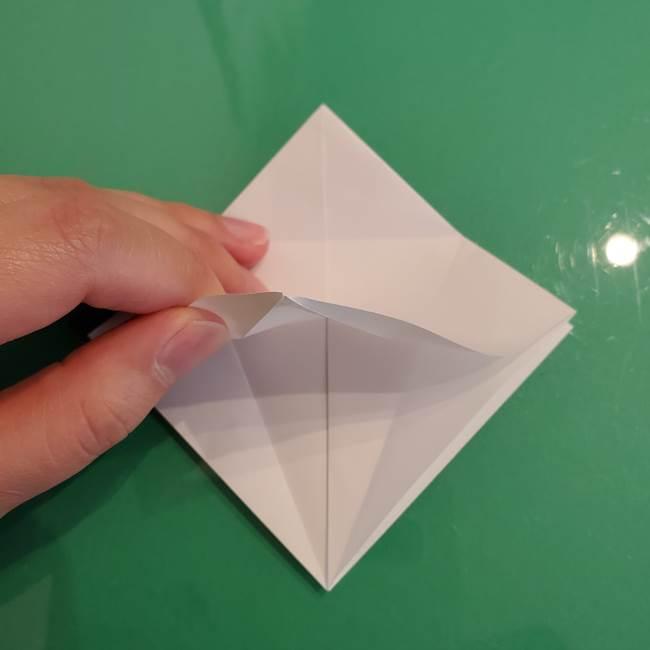 ポケモンの折り紙 ワンパチの折り方作り方①折り方(15)