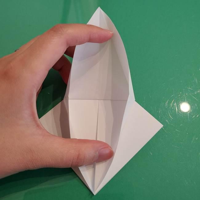 ポケモンの折り紙 ワンパチの折り方作り方①折り方(16)