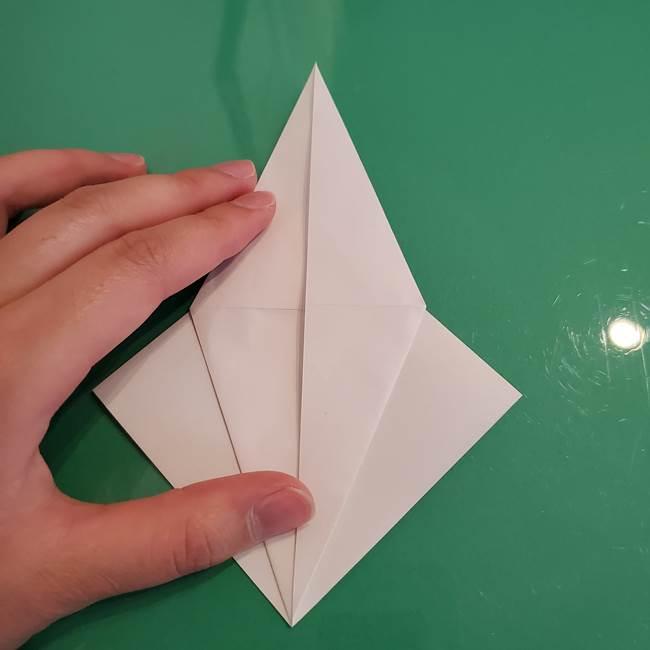 ポケモンの折り紙 ワンパチの折り方作り方①折り方(17)