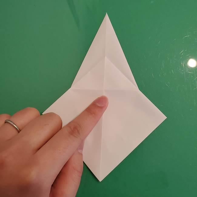 ポケモンの折り紙 ワンパチの折り方作り方①折り方(18)