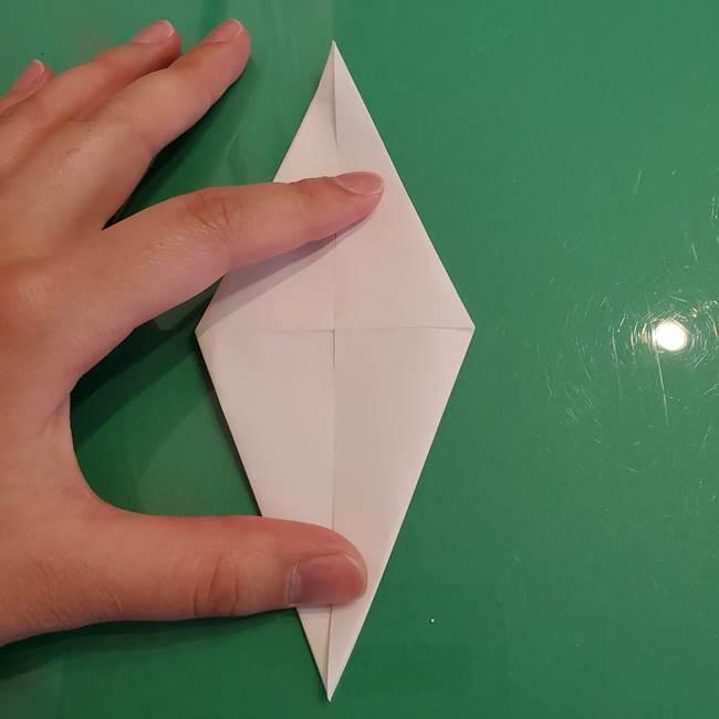 ポケモンの折り紙 ワンパチの折り方作り方①折り方(19)