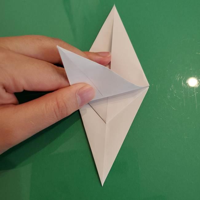 ポケモンの折り紙 ワンパチの折り方作り方①折り方(20)