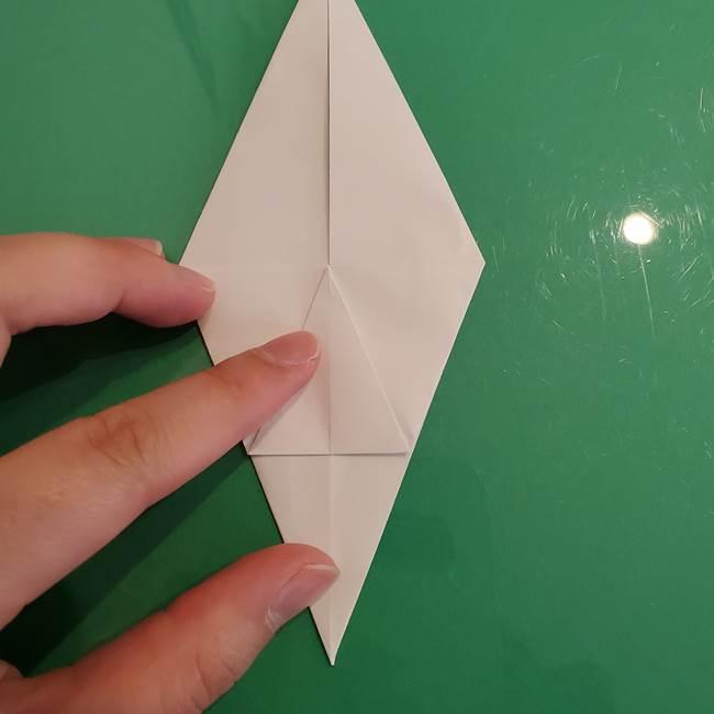 ポケモンの折り紙 ワンパチの折り方作り方①折り方(21)