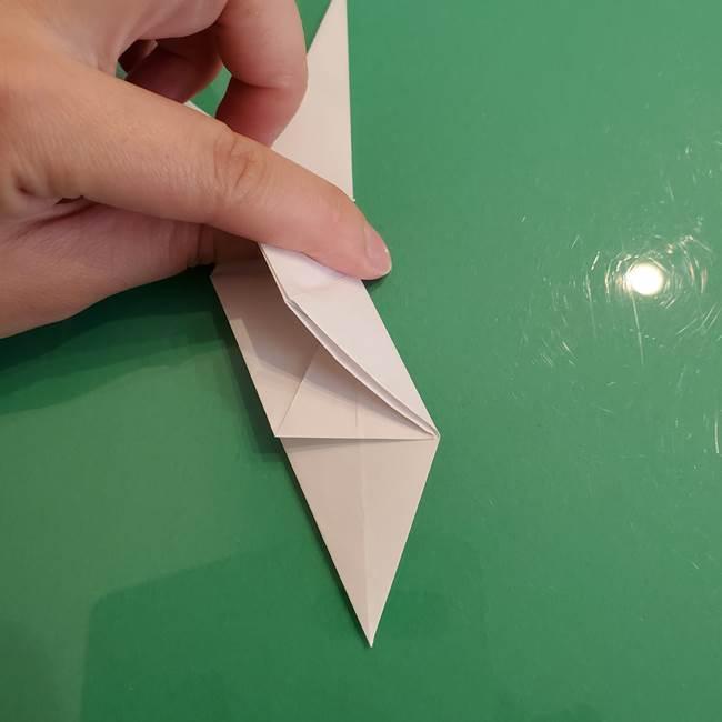 ポケモンの折り紙 ワンパチの折り方作り方①折り方(22)
