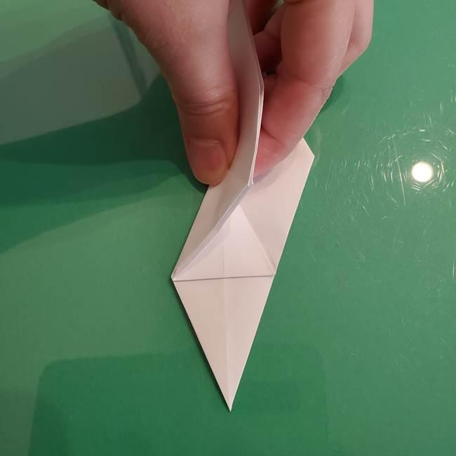 ポケモンの折り紙 ワンパチの折り方作り方①折り方(23)
