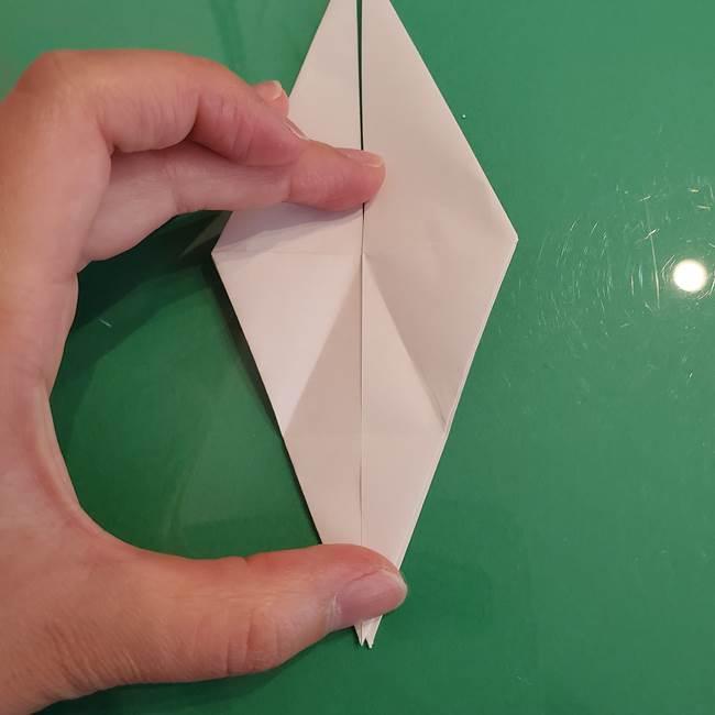 ポケモンの折り紙 ワンパチの折り方作り方①折り方(24)