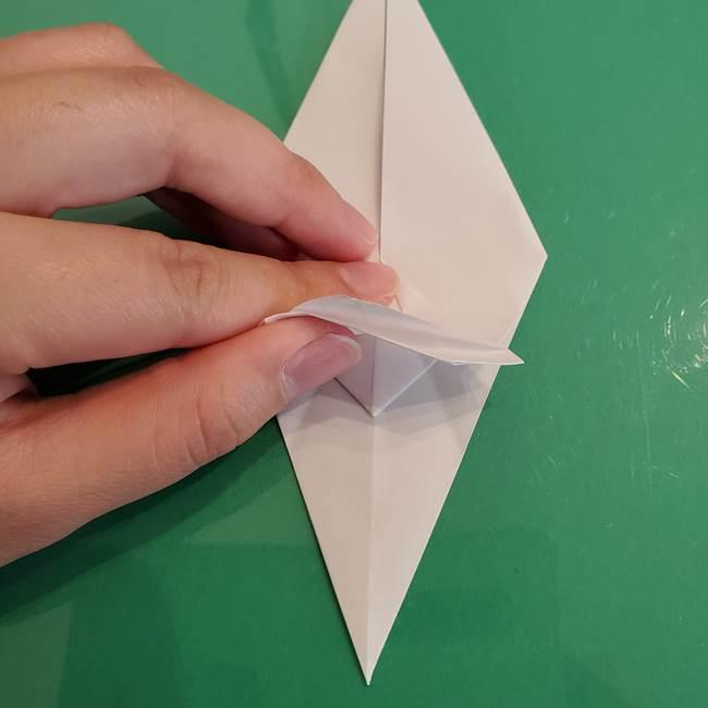 ポケモンの折り紙 ワンパチの折り方作り方①折り方(28)